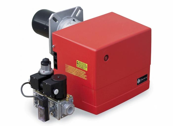 Газовая горелка двухступенчатая тип Р61 Модель М-АВ.S.RU.A.7.50  с реле давл. газа и антивибр. муфт